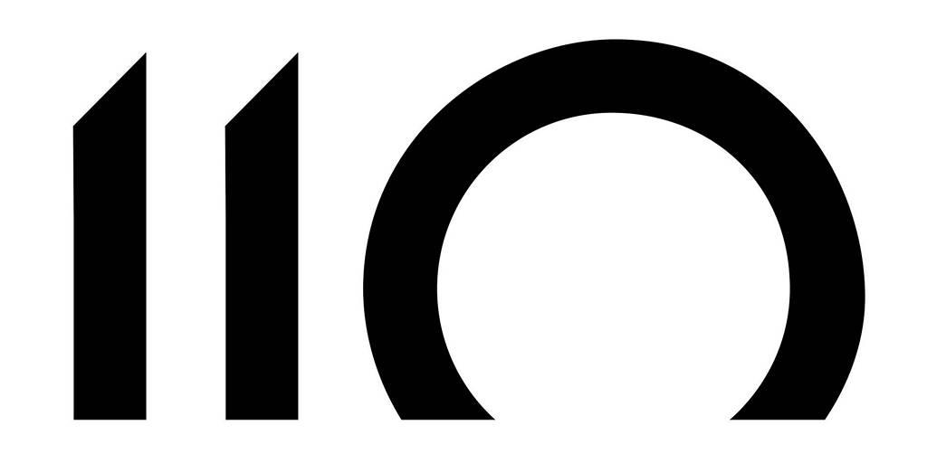 Denon 110 Anniversary logo