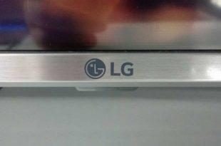 LG 50UK6500 front logo