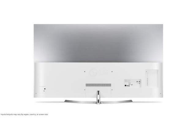 jak wygląda telewizor 4K LG OLED55B7V z tyłu