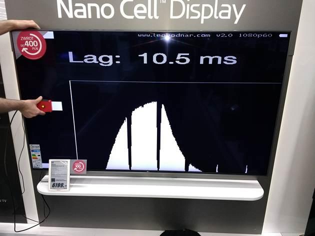LG 65UJ7507 input lag