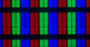 Samsung 65Q67T panel subpixels