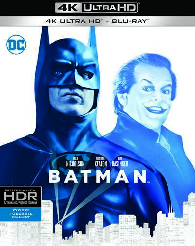 Batman 4K HDR 1989