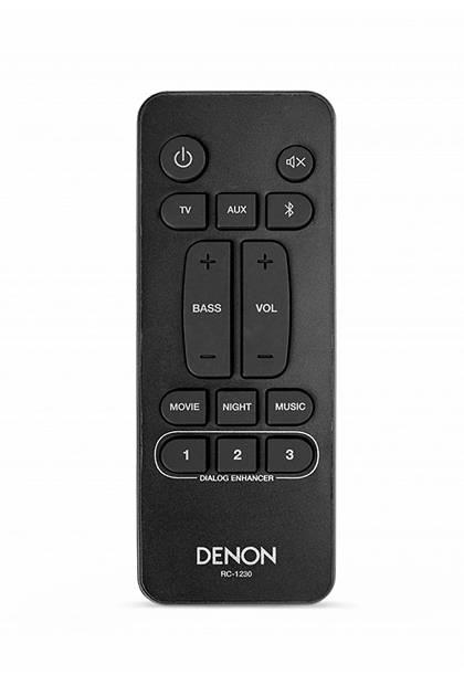 Denon DHT-S316 remote control