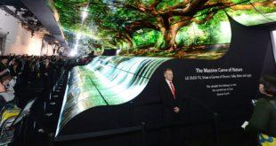 LG OLED Falls CES 2019