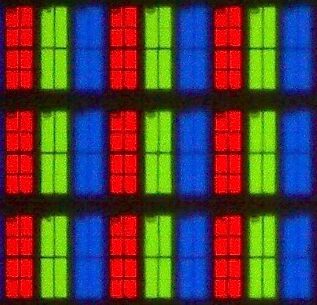 Philips 50PUS6262 subpixels