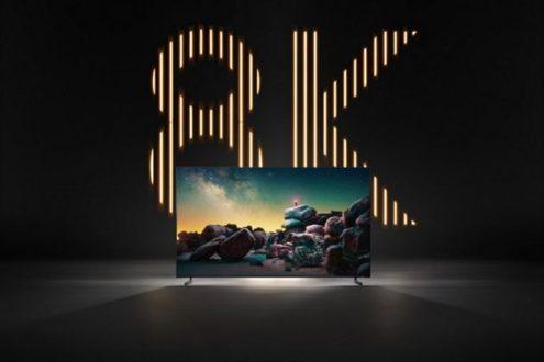 8K logo Samsung