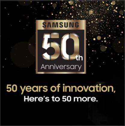 samsung 50 year anniversary