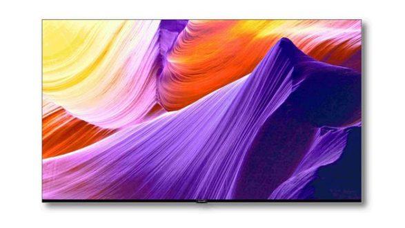 Sharp frameless TV