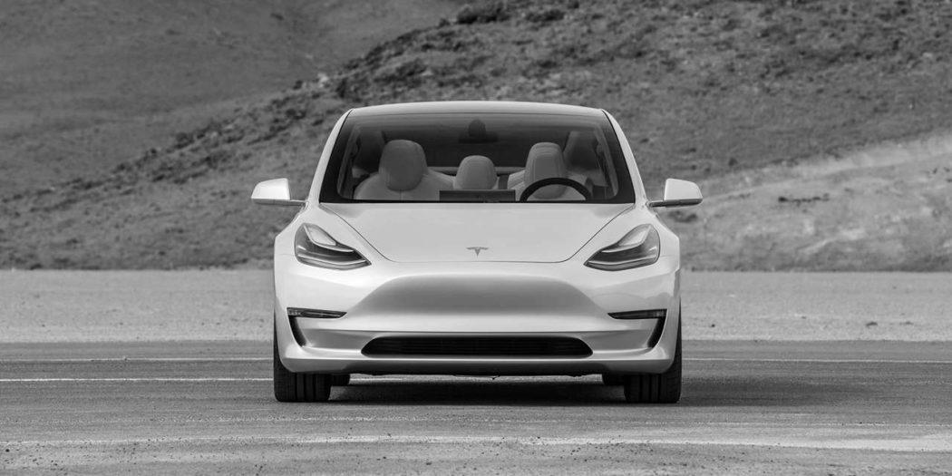 Tesla 3 front
