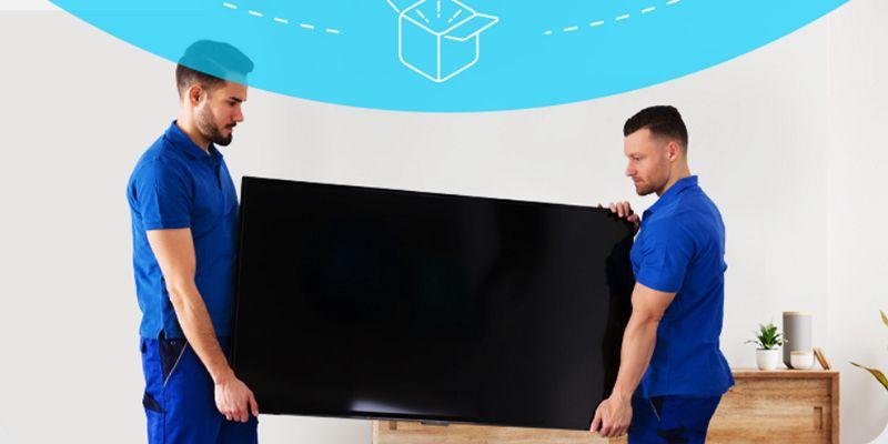 wniesienie telewizora